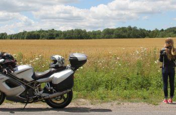 viajar de moto